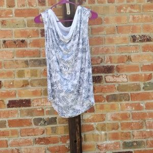 CATO COWL NECK SUMMER TOP PLUS SIZE 26/28